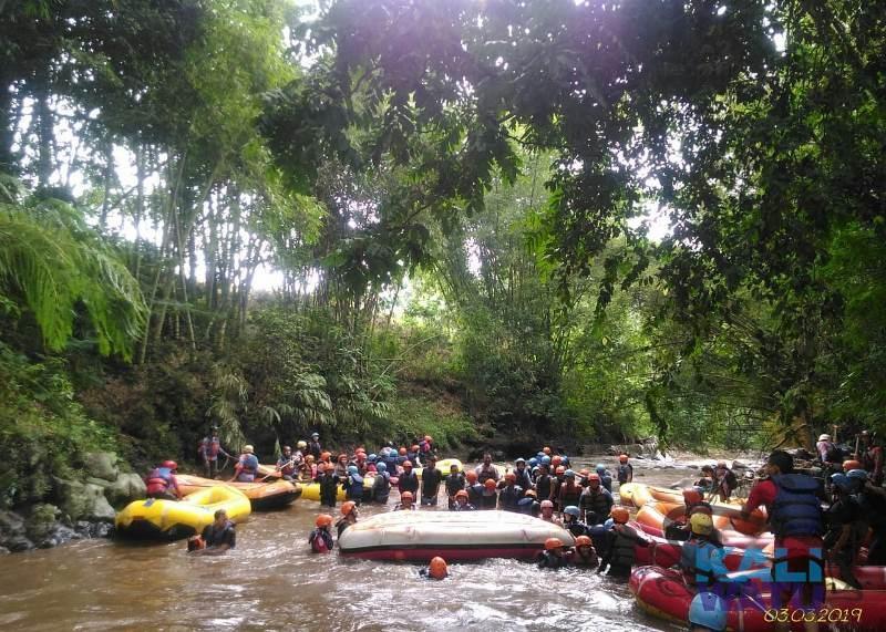 Rafting Group bersama Ikatan Mahasiswa Muhammadiyah